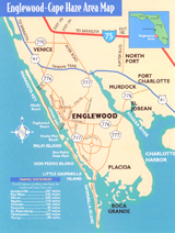 Click to see the Map of Englewood, Cape Haze and surrounding Areas